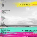 March 2013 Photo-a-day List