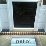Hello, Doormat!