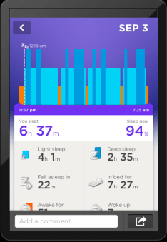 JawboneUP-trackingsleepingpatterns