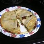 Cheddar, Avocado & Sun-Dried Tomato Quesadillas