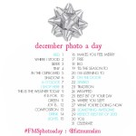December 2013 Photo-a-Day List
