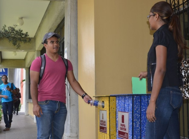 Campus sostenible - reciclaje