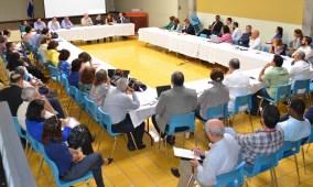 Los profesores de todas las áreas estuvieron representados en el panel de docentes.