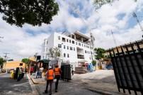Vista del nuevo edificio de Ciencias de la Salud