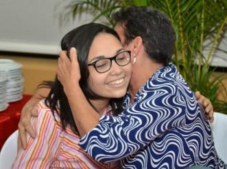 Saida comparte un momento especial junto a su madre.