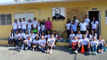 Estudiantes Escuela Fray Ramón Pané
