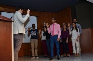Marcos Espinal toma juramento a los nuevos miembros del CEMED