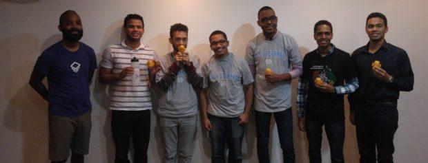 Participantes en el Android Study Jam de INTEC