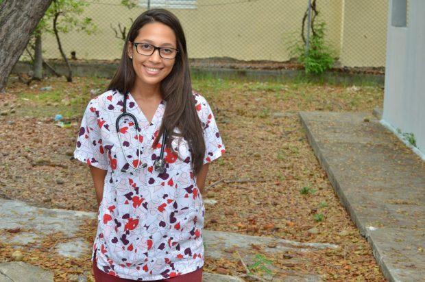 Mónica Guerrero habló sobre su experiencia en el Internado de Medicina Social.