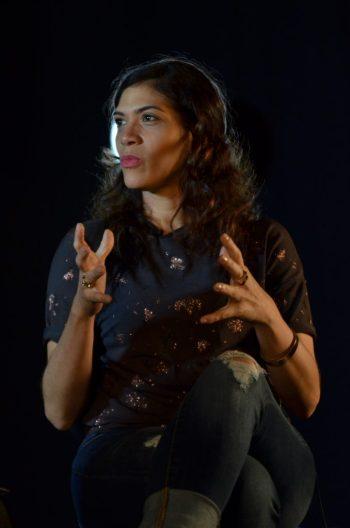 Laura Gómez fue entrevistada en el INTEC.