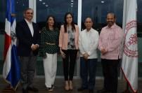 Michel El-Hage, Elena Santos, Saida Inoa, Alejandro Inoa y Martín Abbott