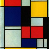 Piet Mondrian Gets the Bikini Treatment.
