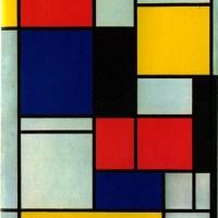 Piet Mondrian Gets the Bikini Treatment.