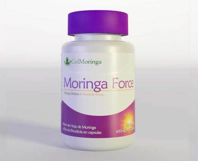 Capsulas de Moringa Force
