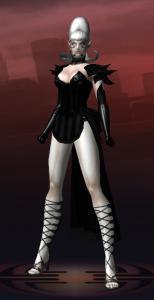 Black Widow Silver