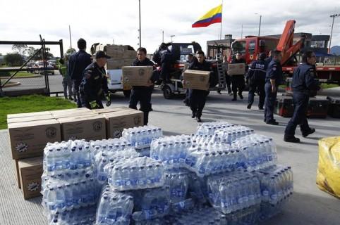 Colombia stuurt hulp aan Ecuador