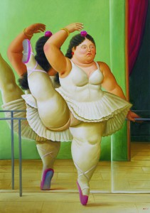 Dancer at the barre, 2001