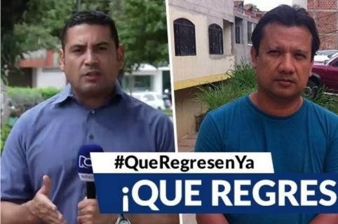 Twee journalisten van RCN vermist