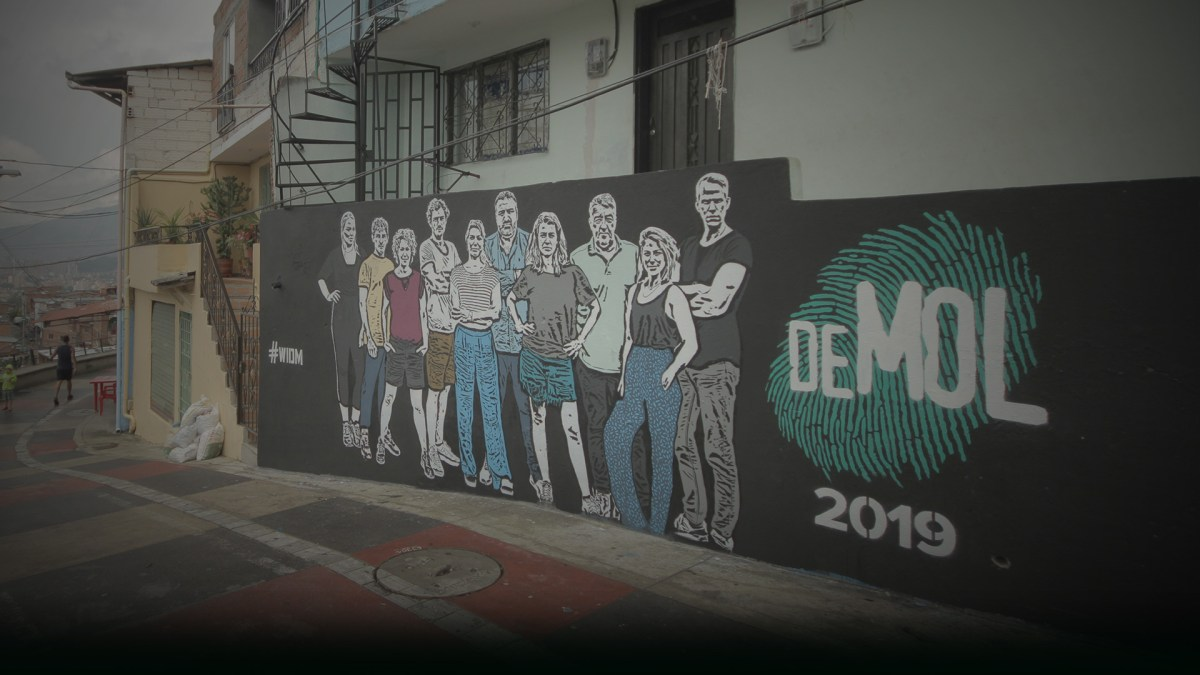 Wie is de Mol 2019 in Colombia