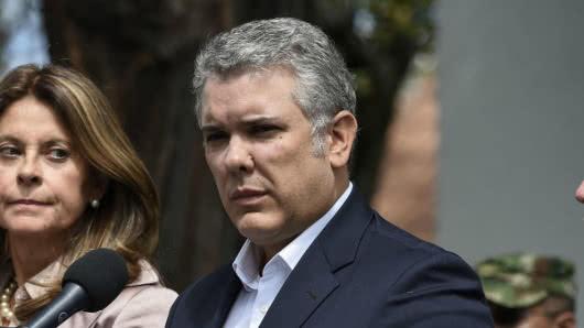 President Duque wil arrestatie ELN-kopstukken na aanslag