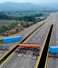 Venezuela blokkeert grens met Colombia