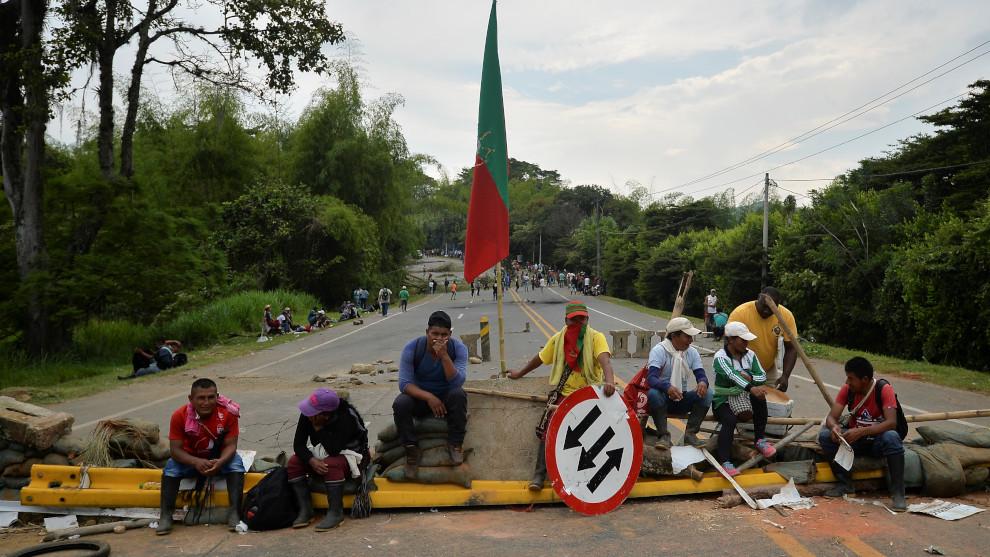 Protest inheemse bevolking breidt zich uit