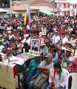 Colombiaanse inheemse bevolking bekritiseert de houding van Duque