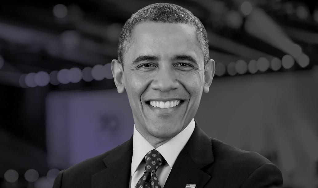 Barack Obama brengt een bezoek aan Colombia