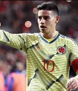 Geblesseerde James Rodriguez geselecteerd voor Copa América