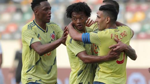 Colombia verslaat Peru in oefeninterland