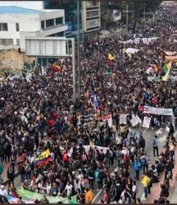 Studenten en leraren eisen beloofde fondsen voor het onderwijs