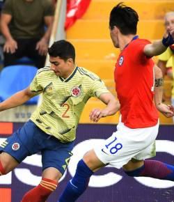 Colombia speelt gelijk tegen Chili in vriendschappelijk duel