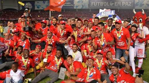 América de Cali is kampioen van Colombia