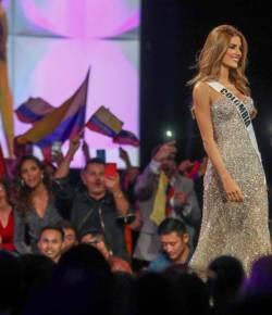 Miss Colombia eindigt bij de vijf finalisten van Miss Universe