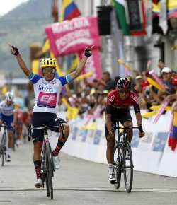 Sergio Higuita wint vierde etappe Tour Colombia 2.1