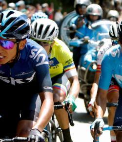 Vijftig Colombiaanse wielrenners mogen weer buiten trainen