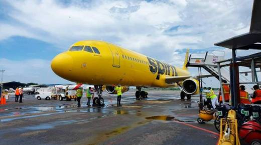 Eerste internationale vlucht op luchthaven Cartagena sinds zes maanden