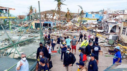 President Duque belooft snelle wederopbouw van het door Iota verwoeste eiland Providencia