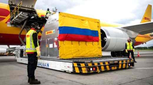 Eerste coronavaccins arriveren in Colombia