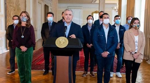 President Ivan Duque trekt nieuwe belastinghervorming in
