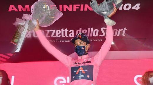 Egan Bernal slaat dubbelslag in de Giro d'Italia
