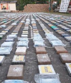 Colombia neemt 5,4 ton cocaïne in beslag ter waarde van 185 miljoen dollar