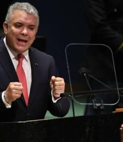President Duque roept bij VN op tot eerlijke verdeling van vaccins