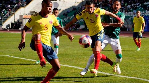 Colombia speelt gelijk tegen Bolivia in WK-kwalificatiewedstrijd