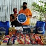 Entrega de ayudas alimentarias a 722 personas en diferentes Municipios de Estado de Veracruz.