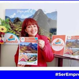 Marily Arellano y su emprendimiento Amanda Ecotravel en Expo Emprende Mujer 2021