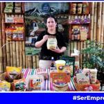 Luz Isuiza con su emprendimiento Delicias Luchita en Expo Emprende Mujer 2021