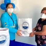 Familias de Piura y Chimbote reciben mercados. Mayo 2021