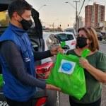 Entrega de ayudas en Iquique