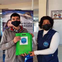 En la ciudad de San Fernando Chile se realizó la entrega de útiles escolares